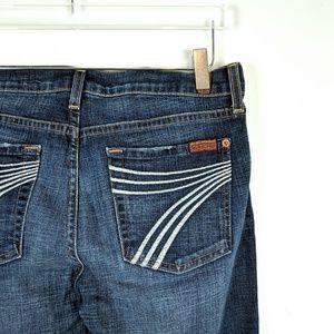 Seven 7 FOR ALL MANKIND Dojo Flare Leg Jeans 27*